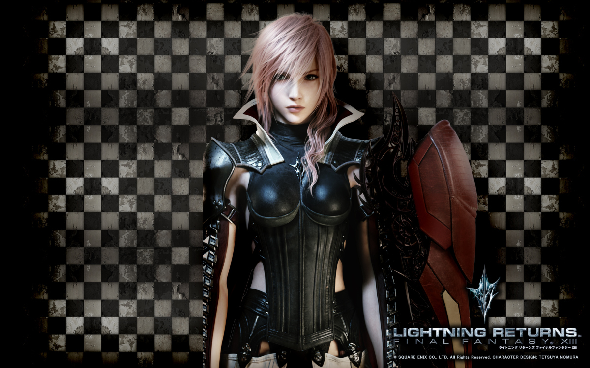 lightning returns final fantasy xiii wallpaper (hd)
