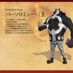 One Piece: Pirate Warriors 2 Bartholomew Kuma Artwork