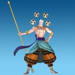 One Piece: Pirate Warriors 2 Enel Artwork