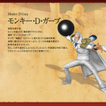 One Piece: Pirate Warriors 2 Monkey D. Garp Artwork