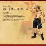 One Piece: Pirate Warriors 2 Portgas D. Ace Artwork