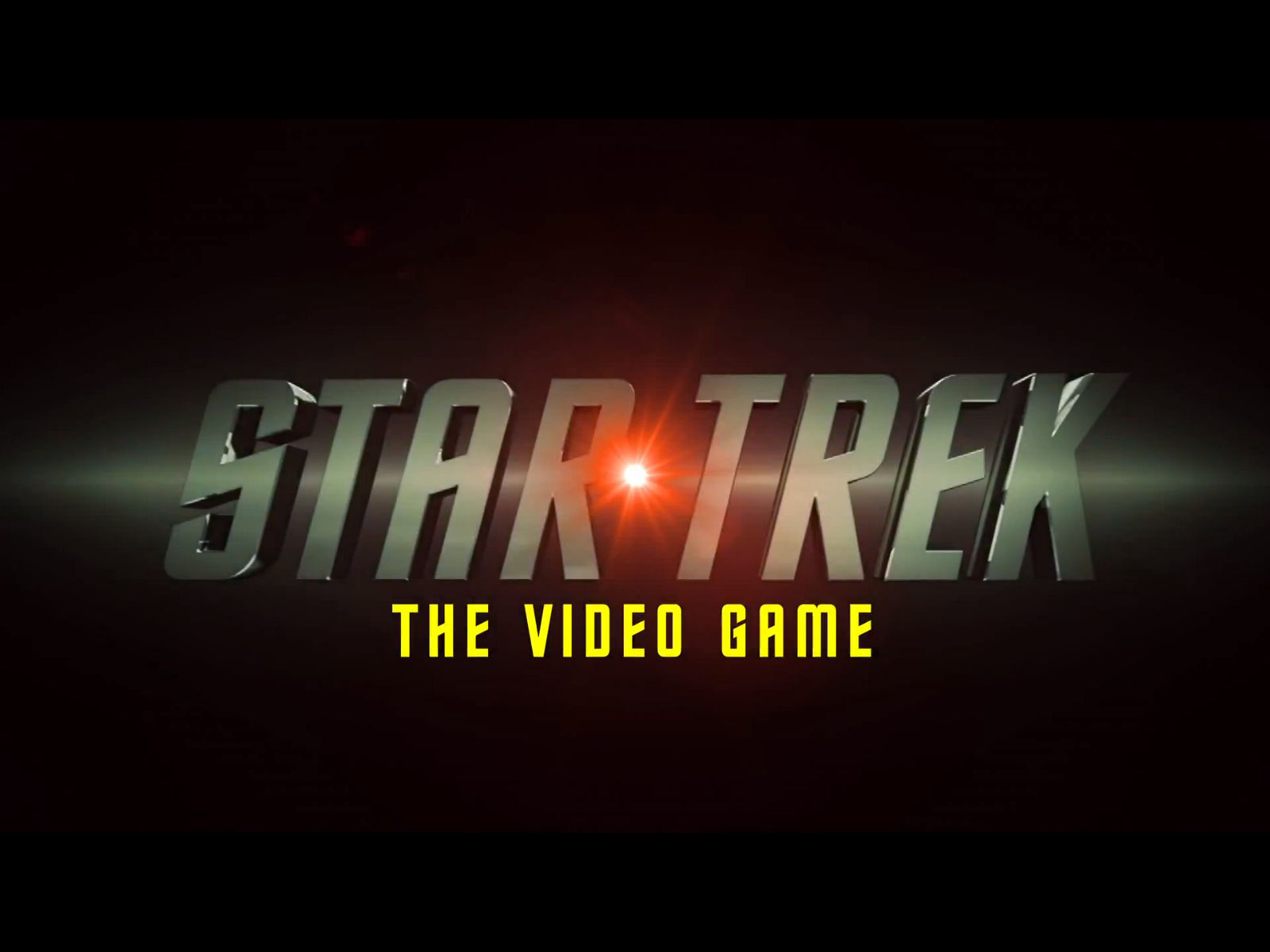 Star Trek 2013 Game Logo Wallpaper