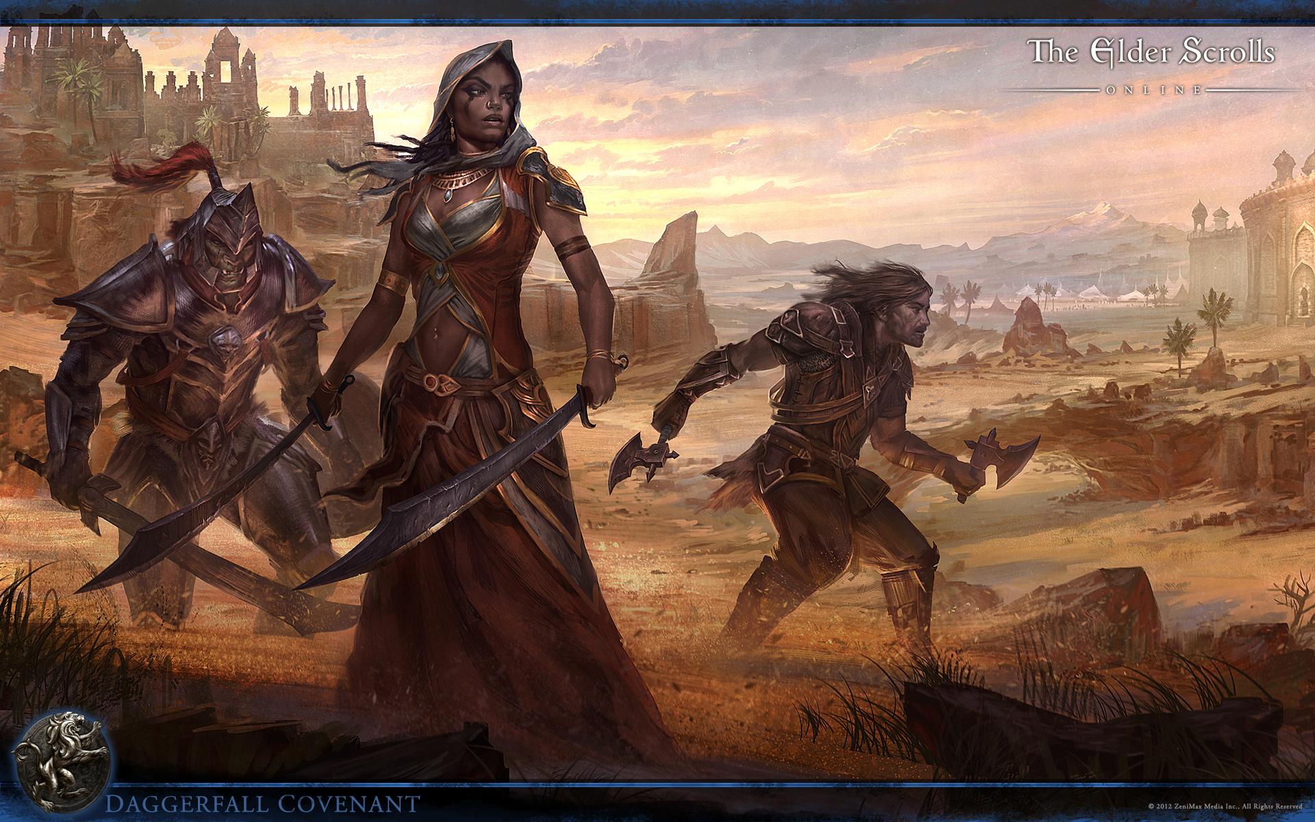 The Elder Scrolls Online Daggerfall Covenant Wallpaper