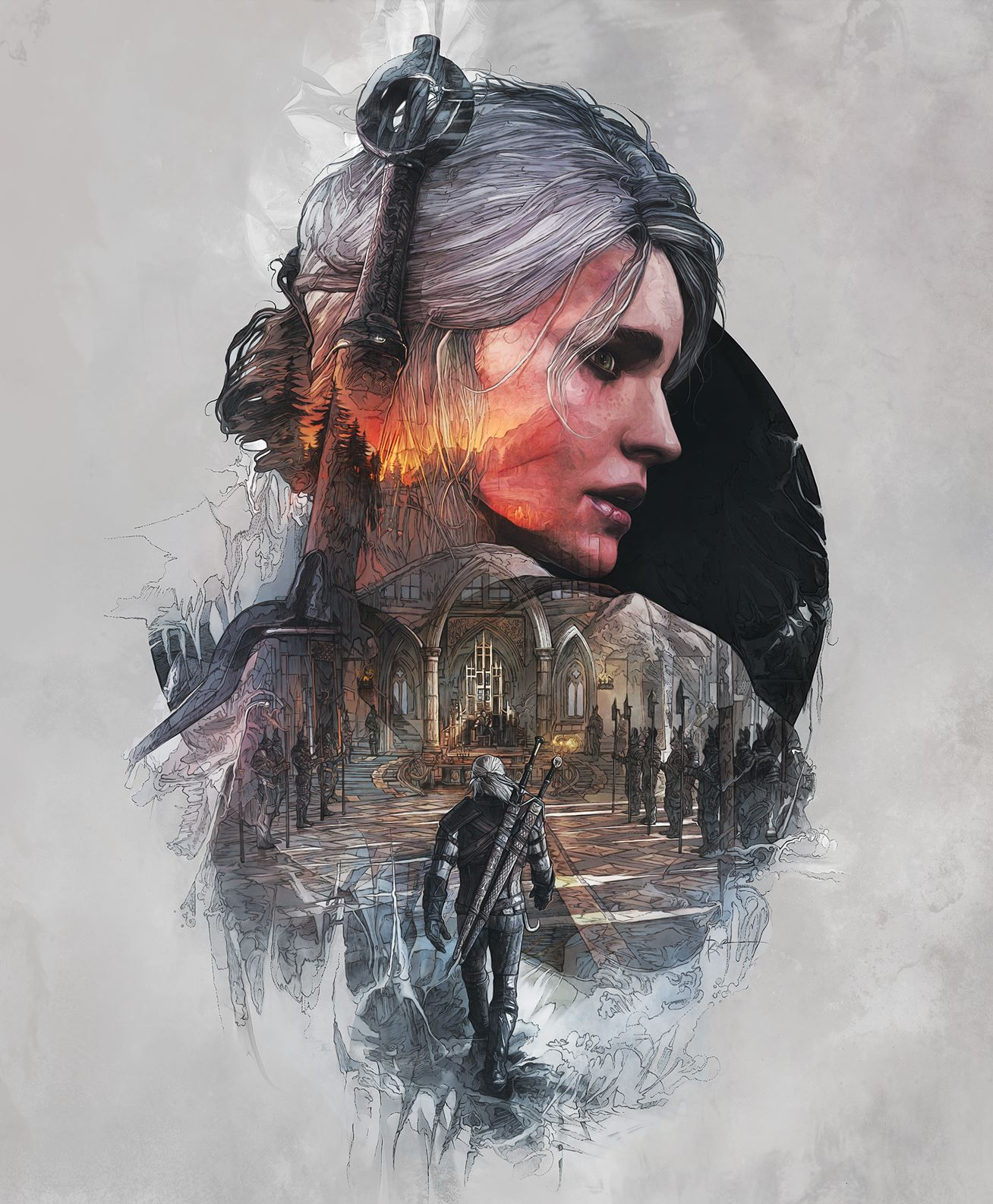 The Witcher 3 No Man's Land Cover Art