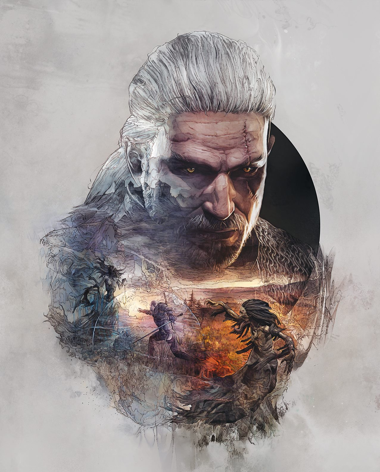 The Witcher 3 No Man's Land Front Cover Art