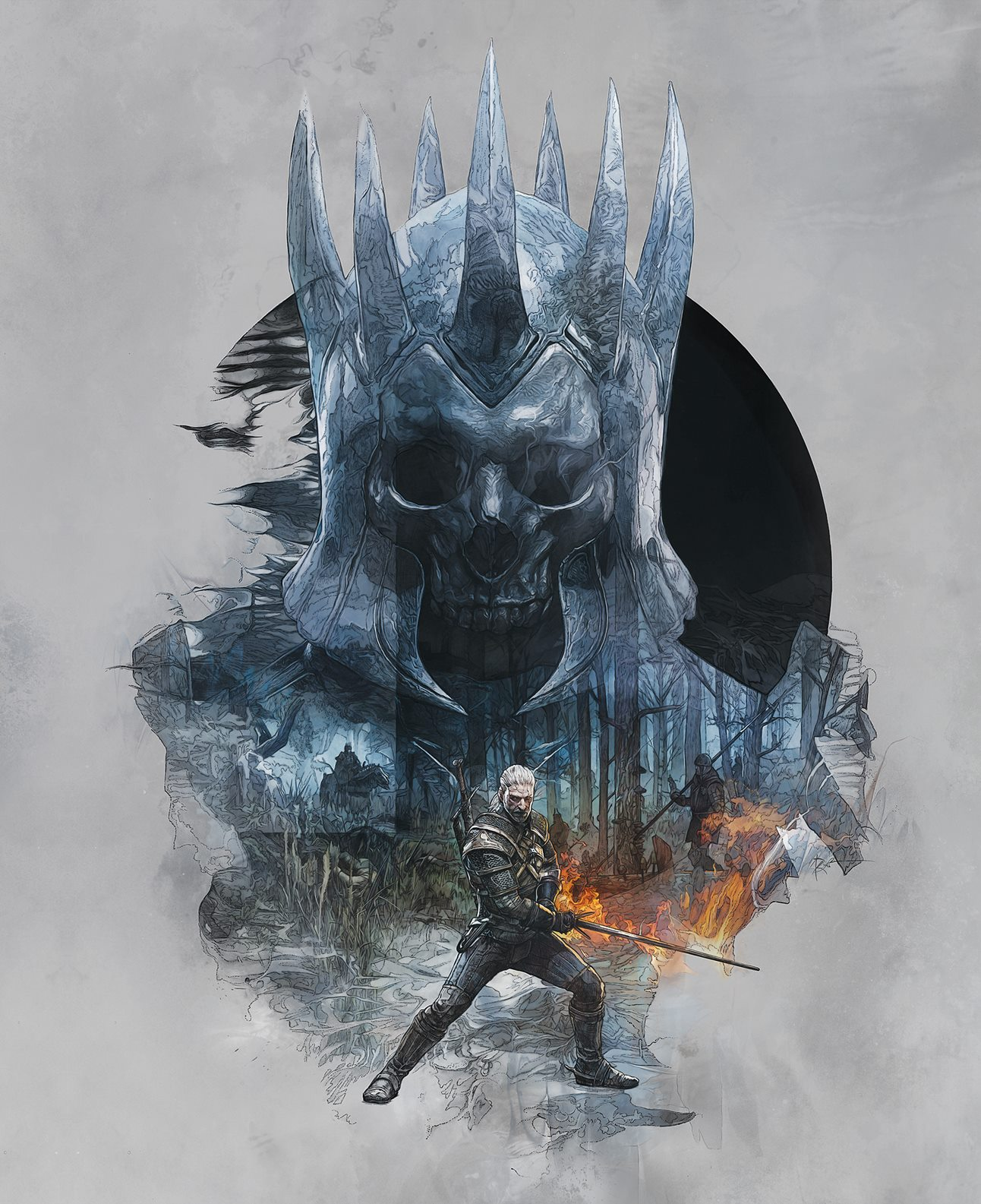 The Witcher 3 Skellige Cover Art