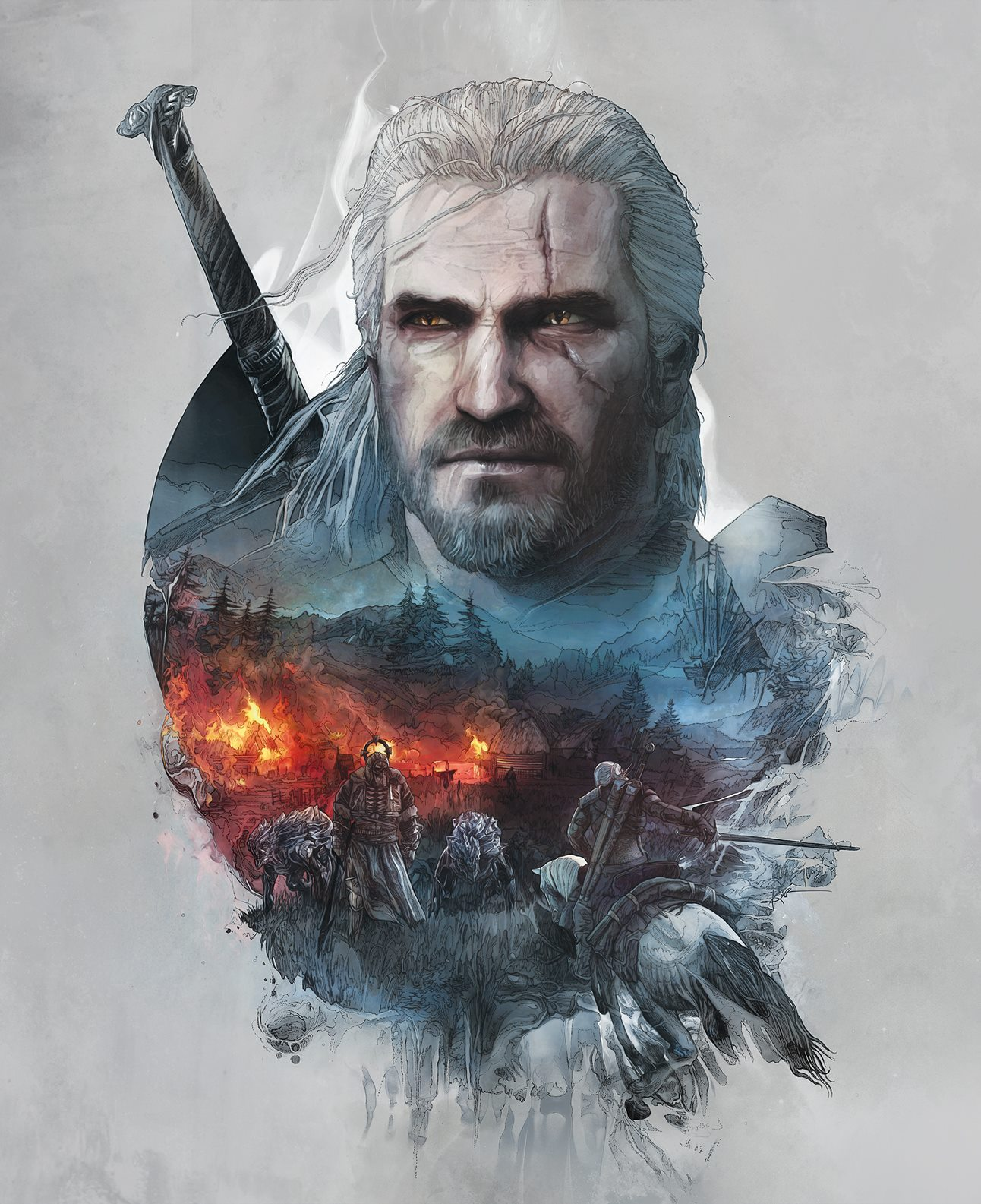The Witcher 3 Skellige Front Cover Art