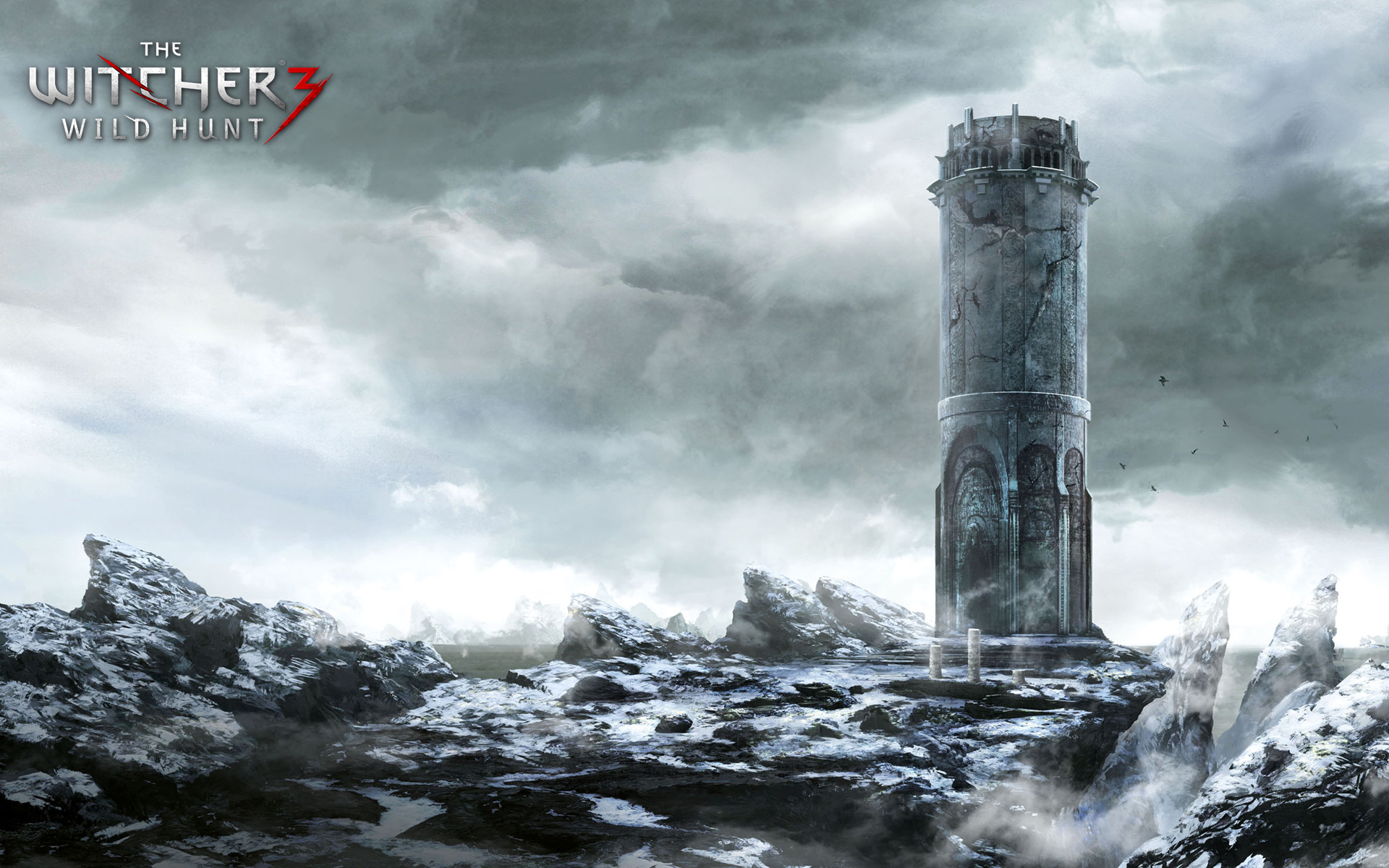 The Witcher 3 Tower Wallpaper