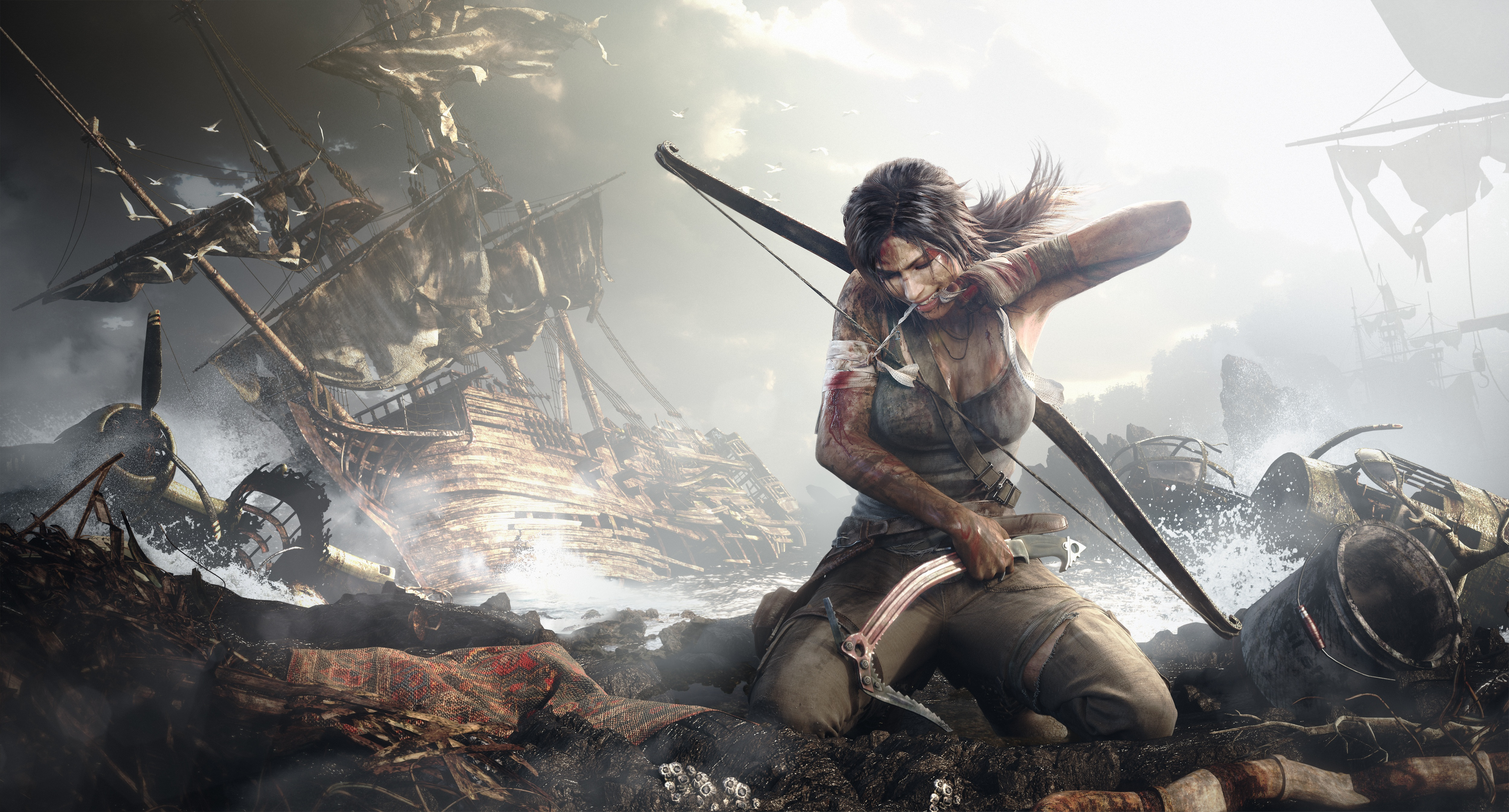 Tomb Raider 2013 Lara Croft Artwork