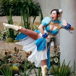 Chun-Li Cosplay Fight