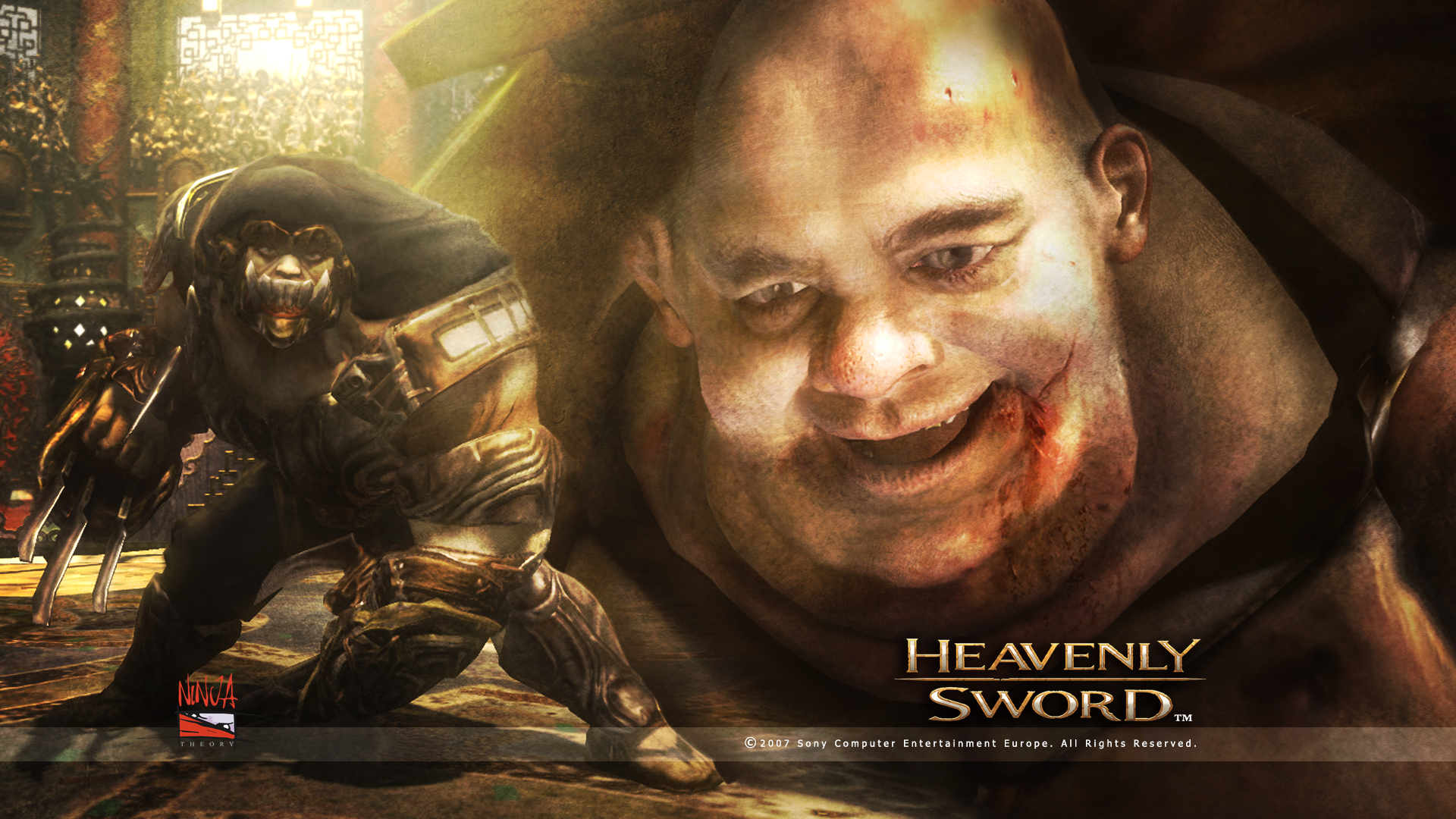 Heavenly Sword Roach Wallpaper
