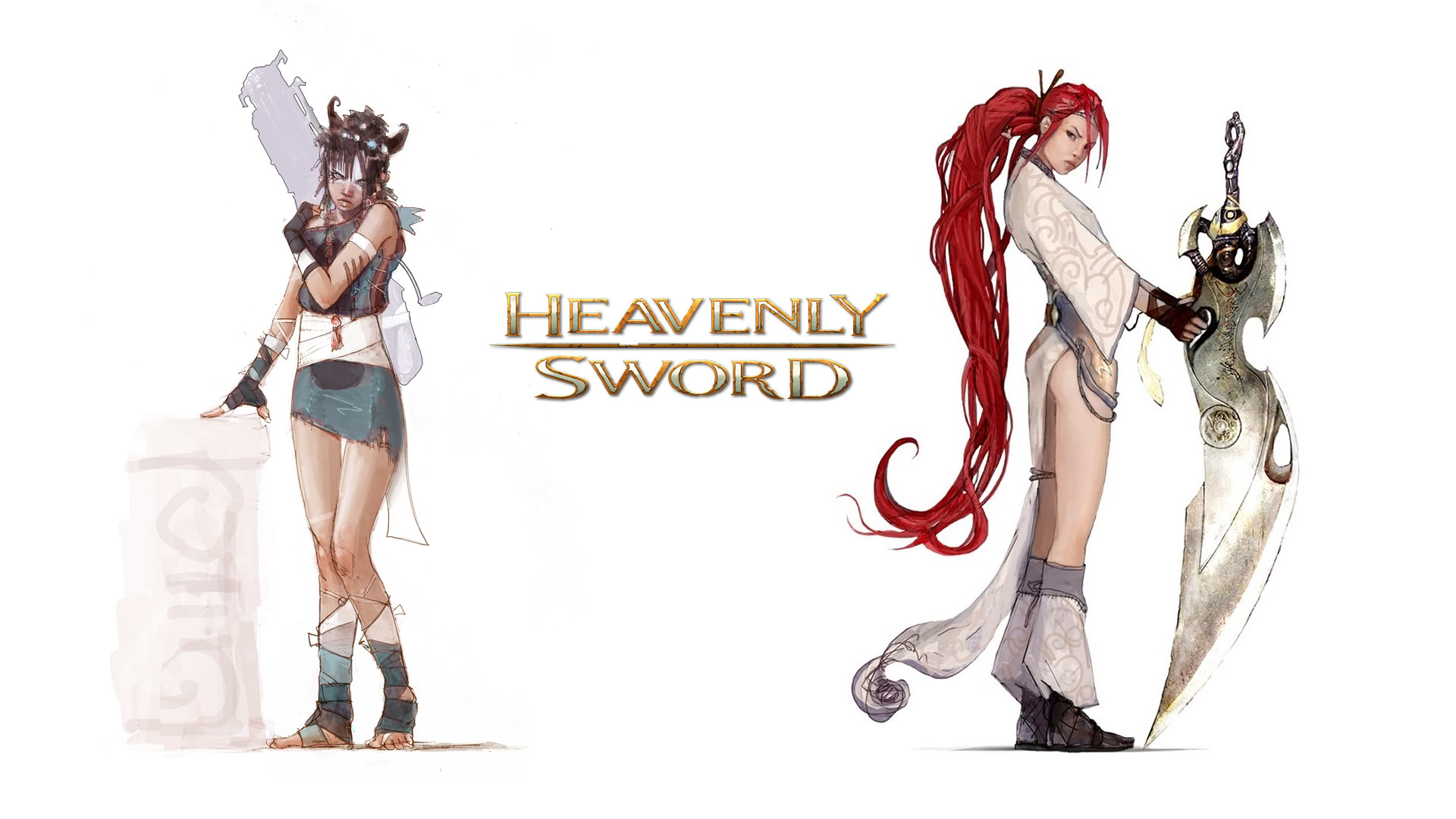 Heavenly Sword Sisters Wallpaper
