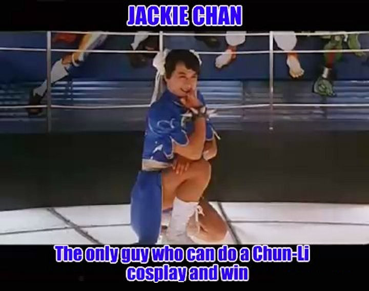 Jackie Chan Chun-Li Cosplay