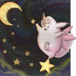 Pokemon 036 Clefable Artwork