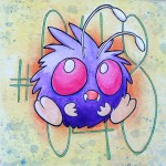Pokemon 048 Venonat Artwork