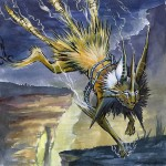 Pokemon 135 Jolteon Artwork