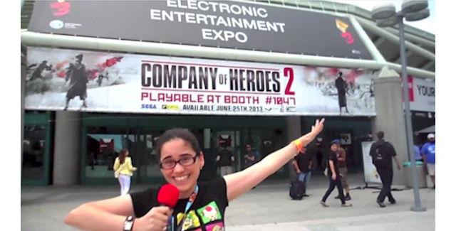 Video Games Blogger at E3 2013