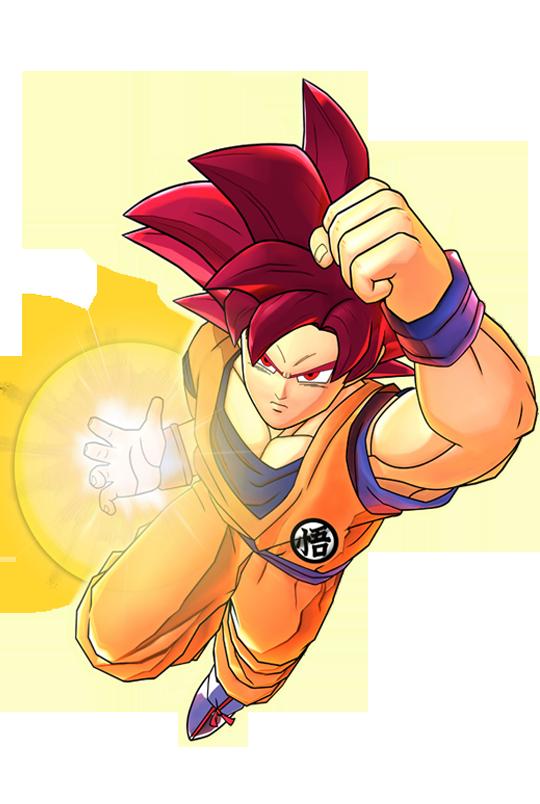 Dragon Ball Z: Battle of Z Goku Super Saiyan God Artwork