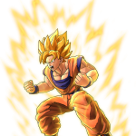 Dragon Ball Z: Battle of Z Super Saiyan Goku Artwork