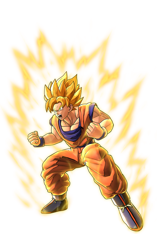 Dragon Ball Z Battle Of Z Super Saiyan Goku Artwork