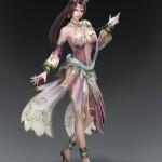 Dynasty Warriors 8 Diaochan Artwork