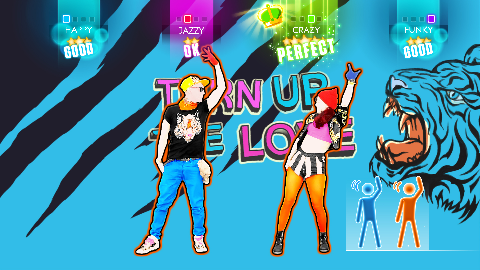 Just Dance 2014 Far East Movement & Cover Drive – Turn Up The Love