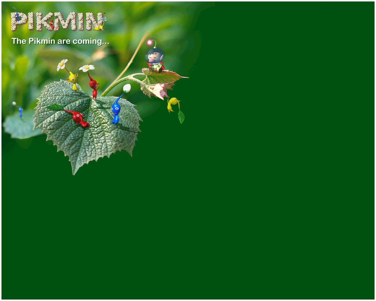 Pikmin 1 Wallpaper