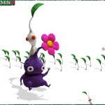 Pikmin 2 Purple and White Pikmin Wallpaper