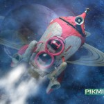 Pikmin 2 Spaceship Wallpaper