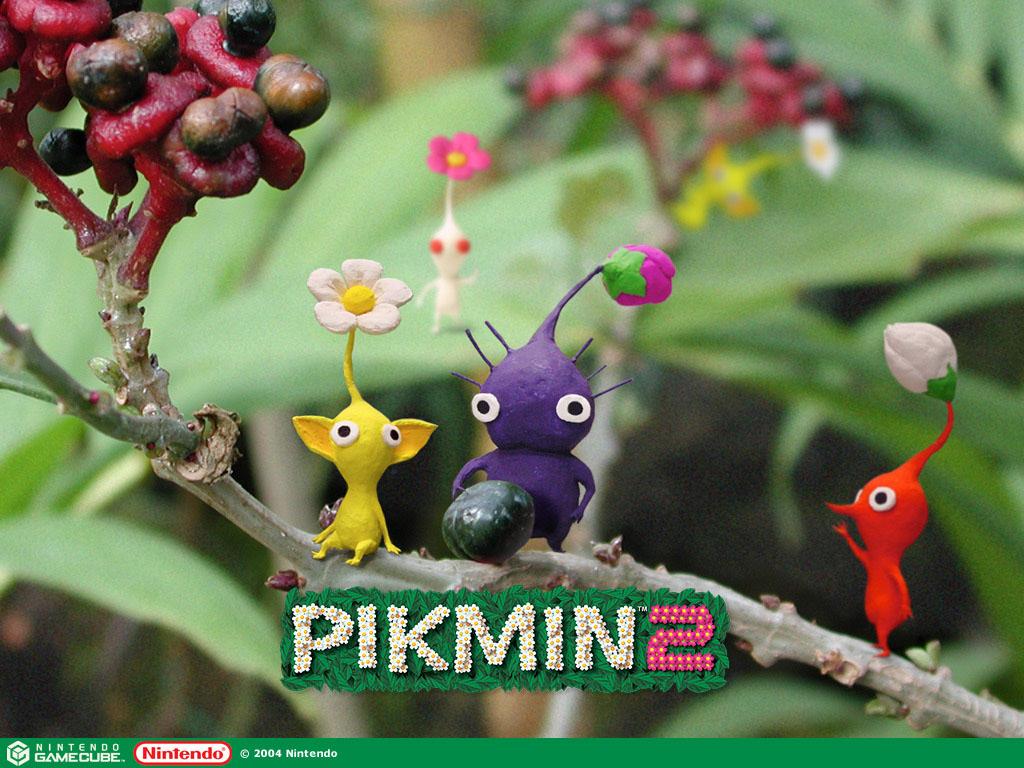 Pikmin 2 Tree Wallpaper