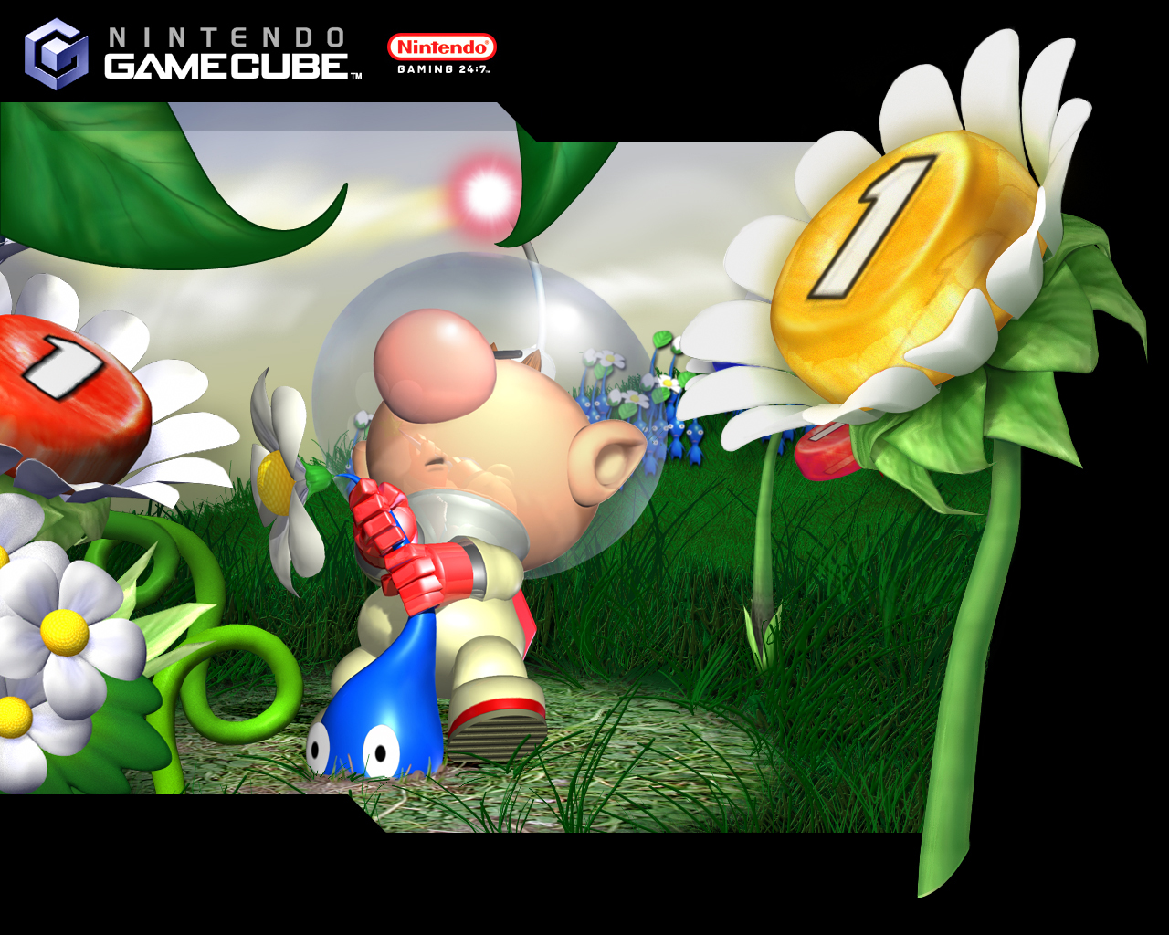 Pikmin Gamecube Wallpaper