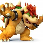 Super Smash Bros Wii U and 3DS Bowser Artwork