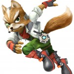 Super Smash Bros Wii U and 3DS Fox McCloud Artwork