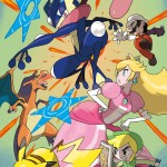 Super Smash Bros Wii U and 3DS Greninja Artwork