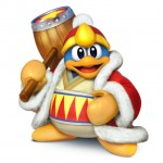 Super Smash Bros Wii U and 3DS King Dedede Artwork