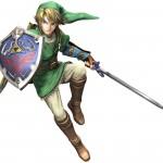 Super Smash Bros Wii U and 3DS Link Artwork