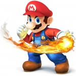 Super Smash Bros Wii U and 3DS Mario Artwork