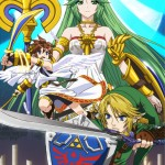 Super Smash Bros Wii U and 3DS Palutena Artwork