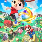 Super Smash Bros Wii U and 3DS Villager Artwork