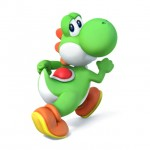 Super Smash Bros Wii U and 3DS Yoshi Artwork
