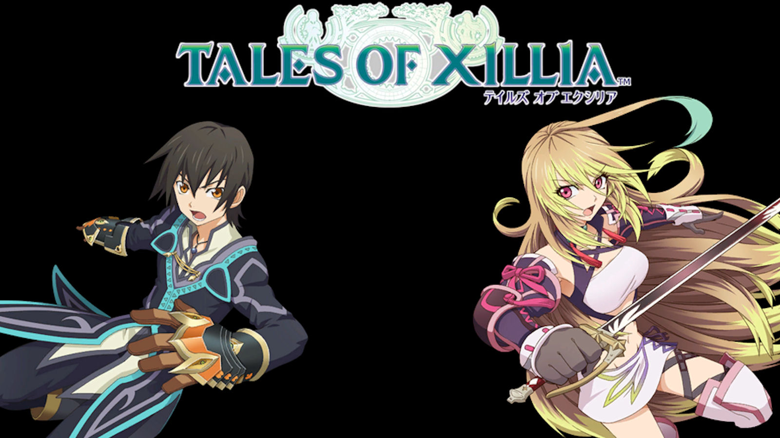 Tales of Xillia Logo Wallpaper