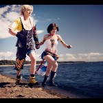 Yuna and Tidus Cosplay Image