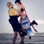 Yuna and Tidus Final Fantasy Cosplay