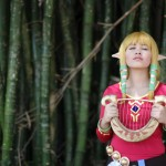 Zelda and Link Character Cosplay