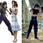 Aerith Zack Comparison Cosplay