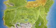 Grand Theft Auto 5 World Map