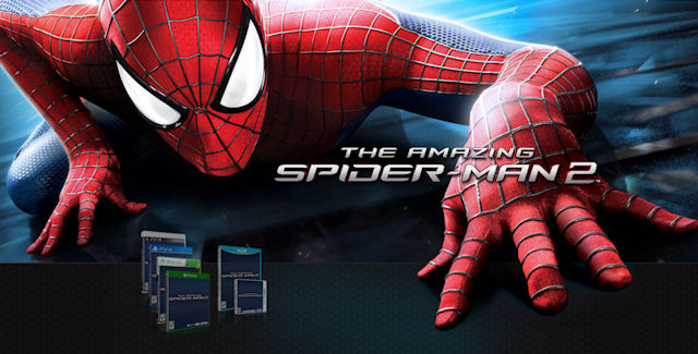 The Amazing Spider-Man 2 video game logo