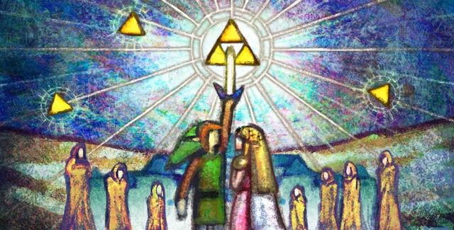 Group Of The Legend Of Zelda A Link Between World S Wallpaper