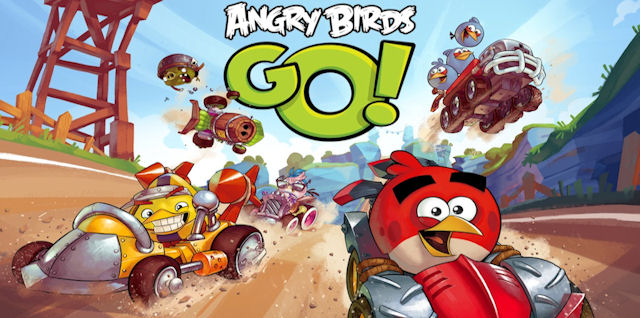 Angry Birds Go Walkthrough
