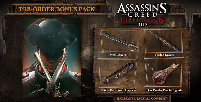 Assassin's Creed Liberation HD Cheats